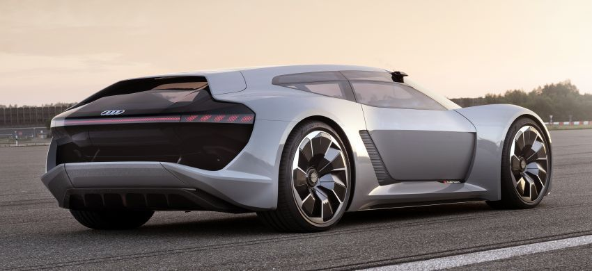 Audi Pb18 E Tron R18 Lmp1 Inspired Electric Sports Car Concept