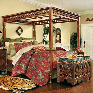 Decorating theme bedrooms - Maries Manor: exotic global style ...