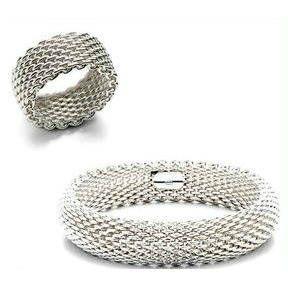 Tiffany & Co Somerset Bracelet/Ring Set