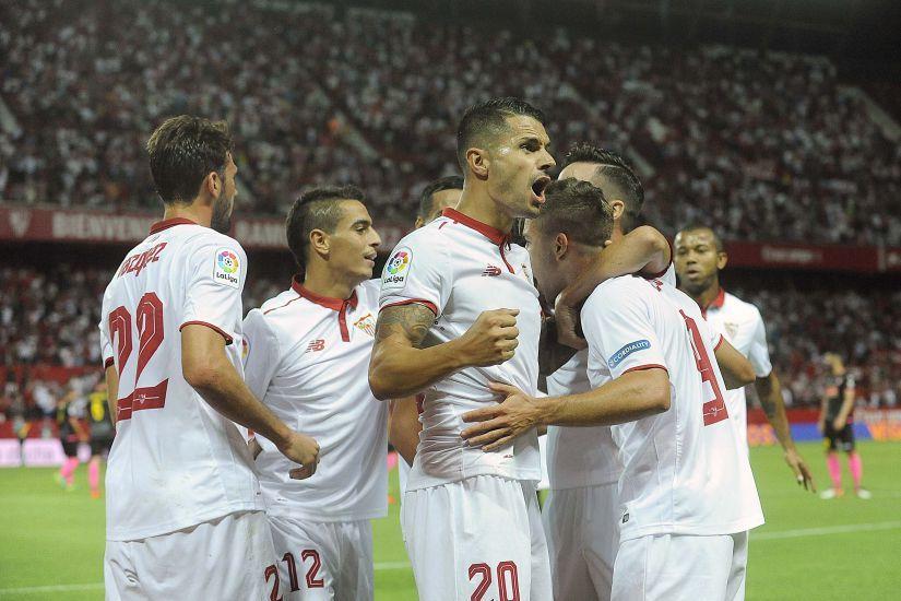 Sevilla 6 - Español 4 de Liga