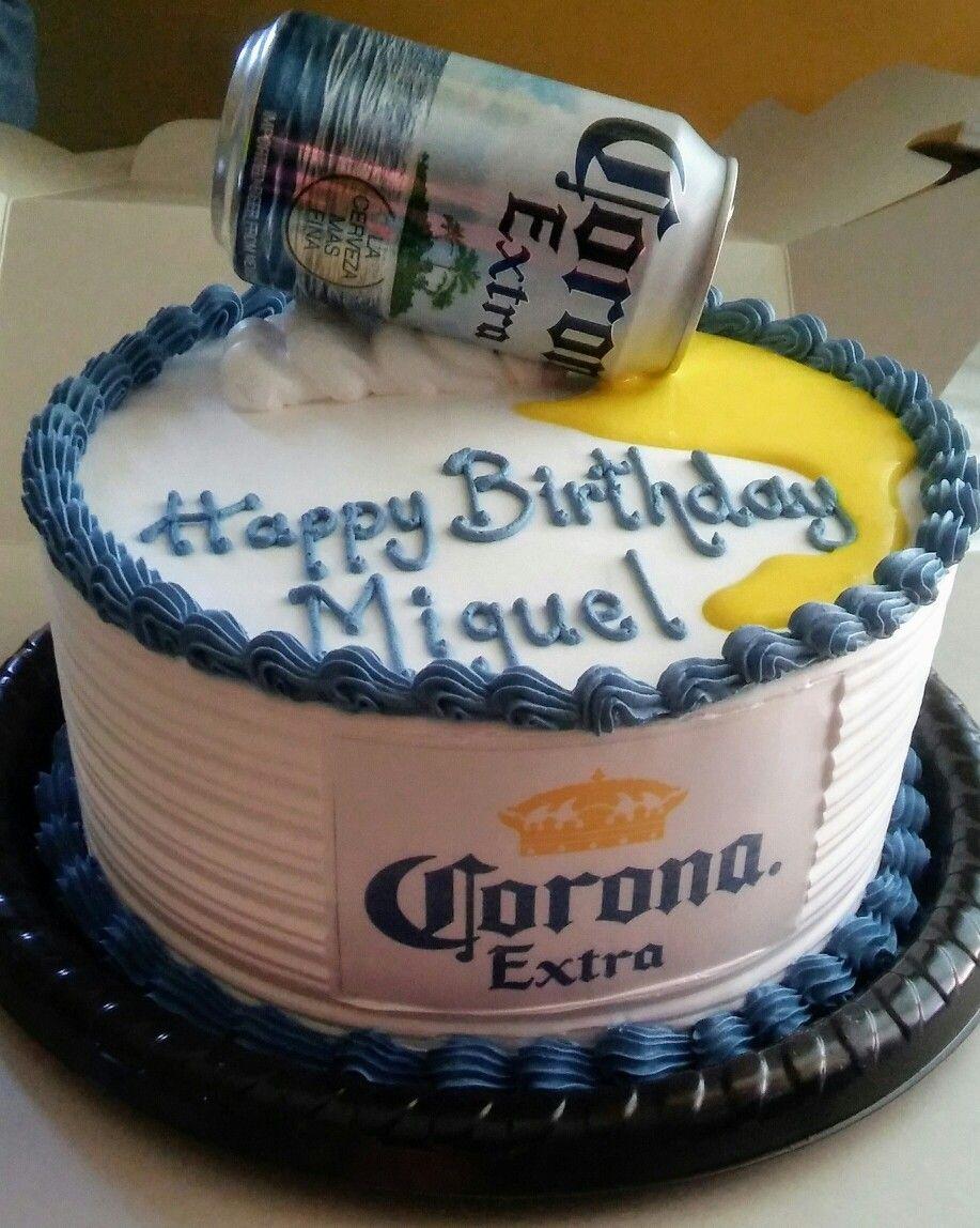 Corona Beer Cake Mis Creaciones Birthday Cake Cake Liquor Cake