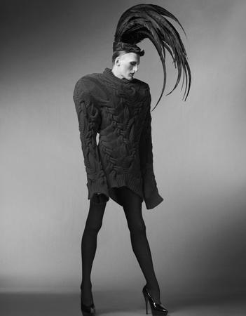 Photographic Print Fashion Film Gareth Pugh Extreme Fashion