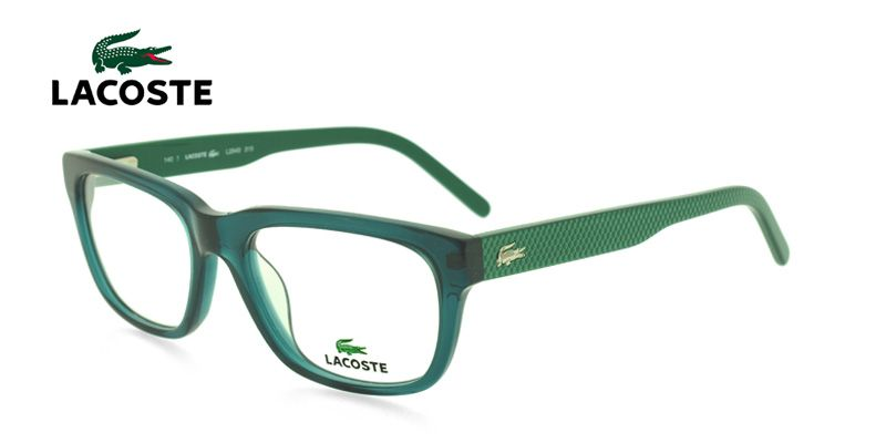 Lacoste L2645 Clear Green NA by GlassesUSA.com | Lacoste, Sprung ...
