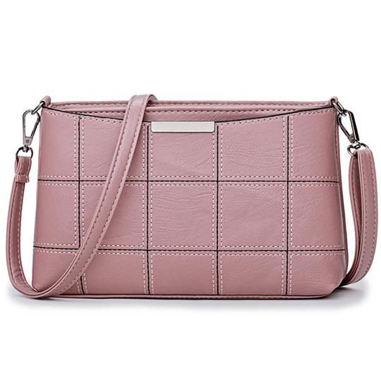 7379df6621 Bonsacchic Small PU Leather Bags Women Shoulder Bag Female Cross-body Bags  for Women Clutch