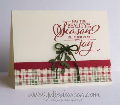 Clean & Simple Frohe Weihnachten an alle Karten (Julies Stempelstelle)   – bazaar crafts