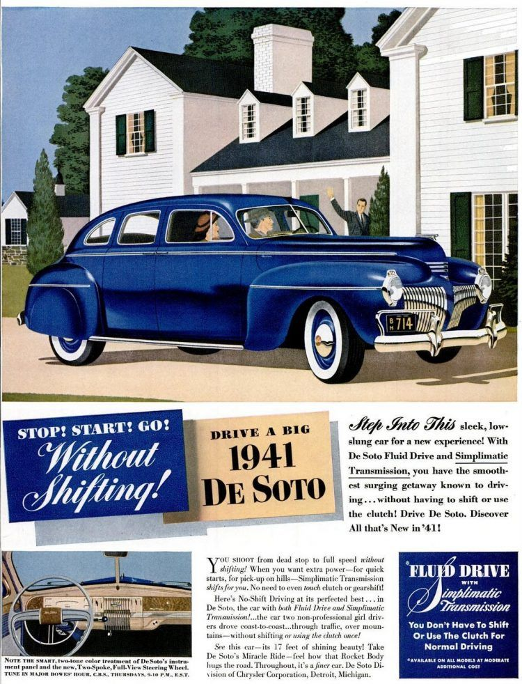 See why people loved classic DeSoto cars (and what they wanted to change) – Click Americana