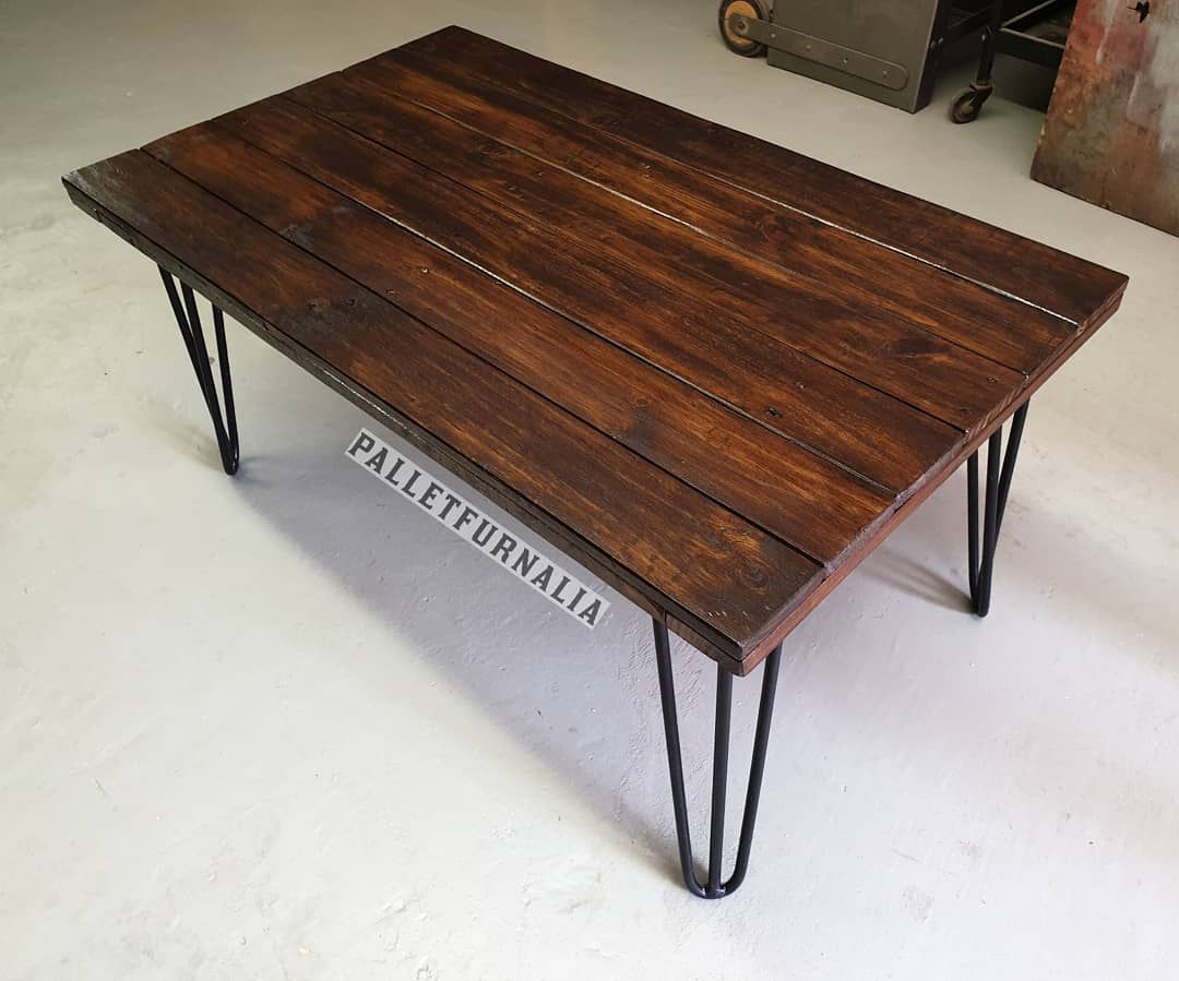 Hairpin Coffee Table Finished In A Dark Oak Varnish Available Locally In Cape Town Area Dm Me If Interested And Or Fo Coffee Table Hairpin Coffee Table Table [ 899 x 1080 Pixel ]