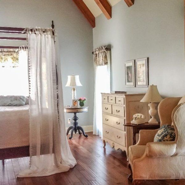 39 Attic Living Rooms That Really Are The Best: Another View Of Our Master Bedroom After Painting It In