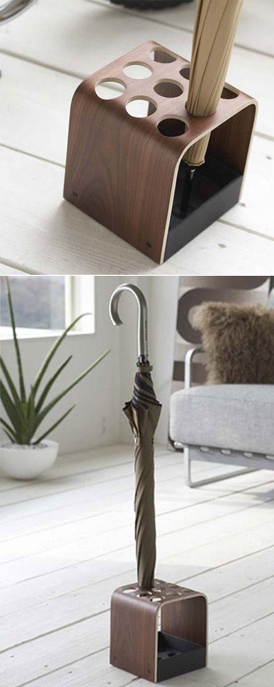 Designer, Hallway Wooden Umbrella Stand