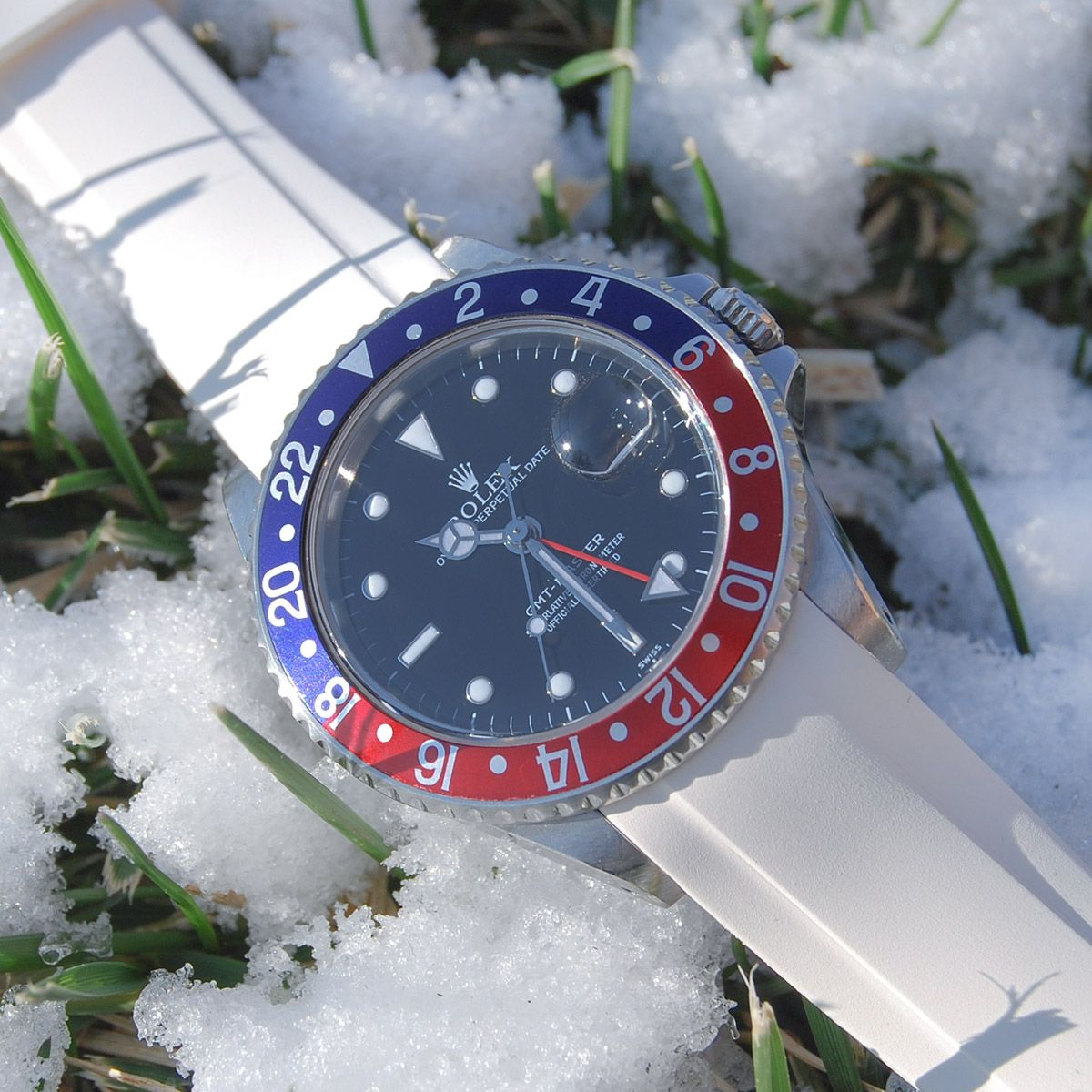 Everest Rubber Strap for Rolex Rubber watches, Rolex