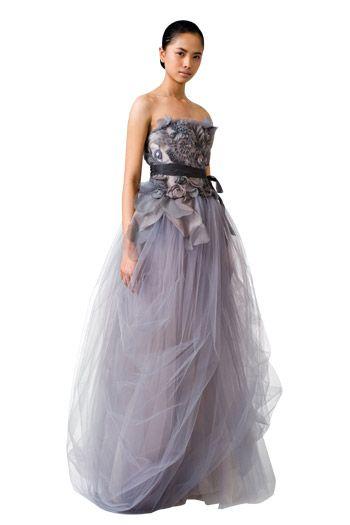 Purple wedding dress: Felicity 110811 by Vera Wang verawang.com ...