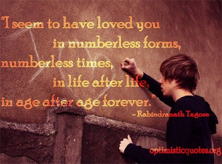 Loving you is forever...
