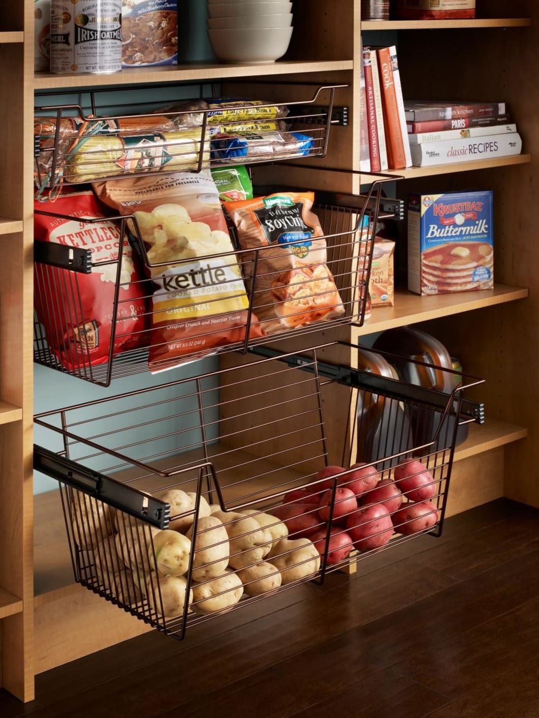 6 easy yet dramatic ways to organize your kitchen food