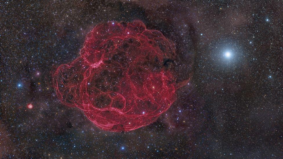 Simeis 147 Supernova from 40 thousand light years ago!