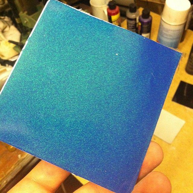 Flip tone paint effect. Many different colour variations