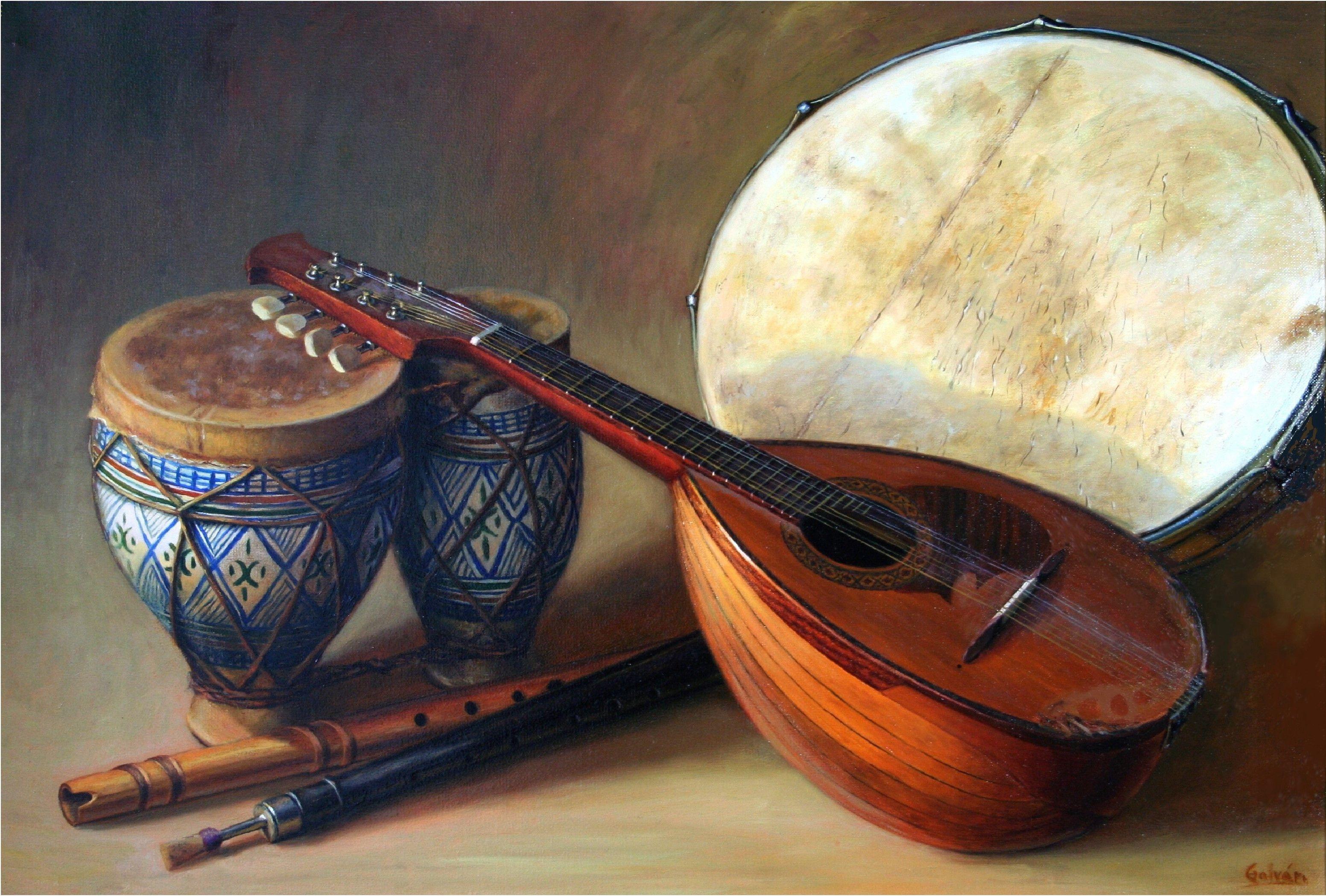 Pintura Instrumentos Musicales Hammer Tools