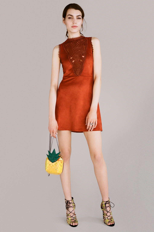 Photo 3 of Suedette Trim Dress