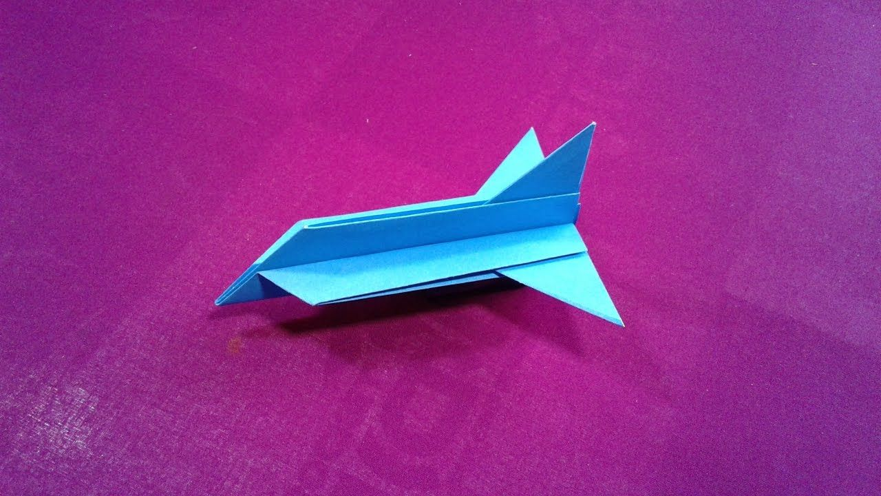 How to make a simple paper plane for kids Cool paper