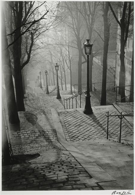 Brassaï THE STAIRS OF MONTMARTRE (PARIS)