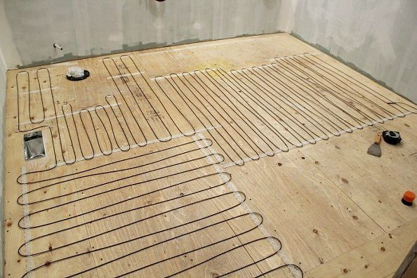 How To Install Heated Tile Flooring And Also How Not To Heated Tile Floor Heated Floors Under Tile Heating
