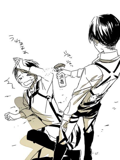 Rivaille (Levi), Eren Jaeger, Attack on Titan (Shingeki no Kyojin)