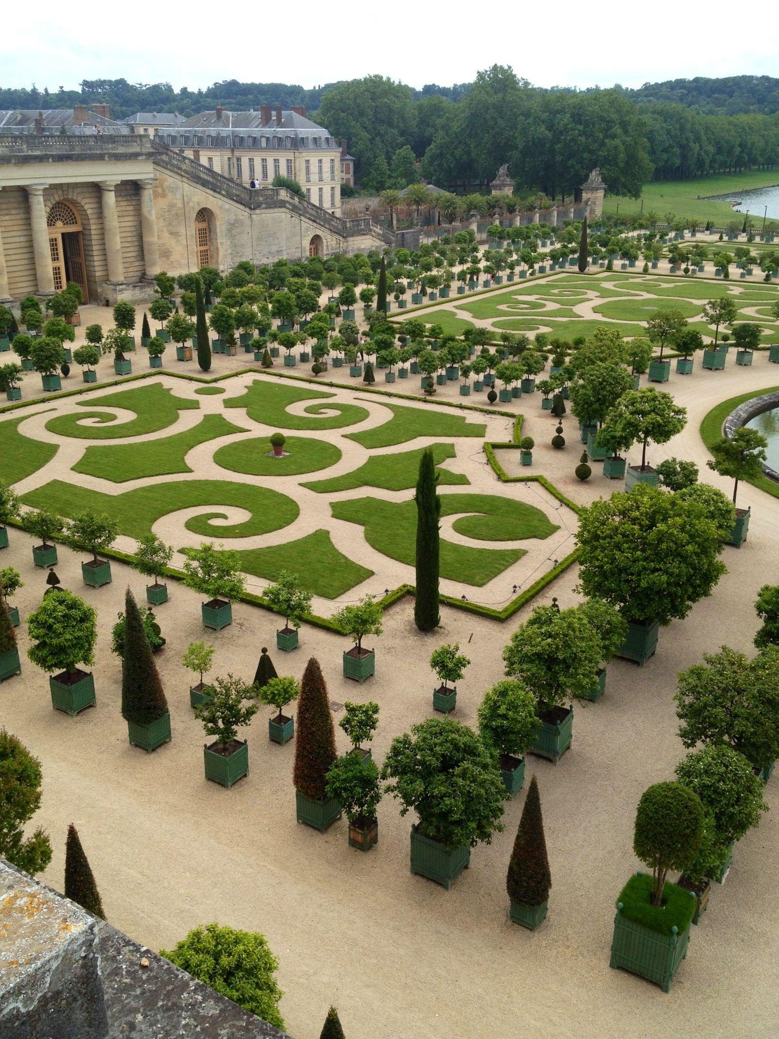 Gardens of Versailles Versailles garden, Water features