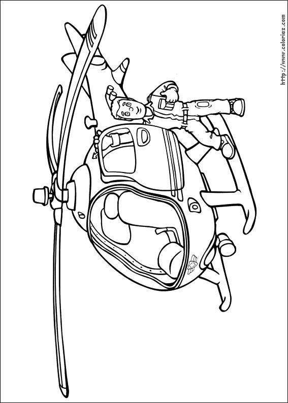 Coloriage sam le pompier colorier dessin imprimer sam le pompier pinterest pompier - Dessin anime pompier gratuit ...