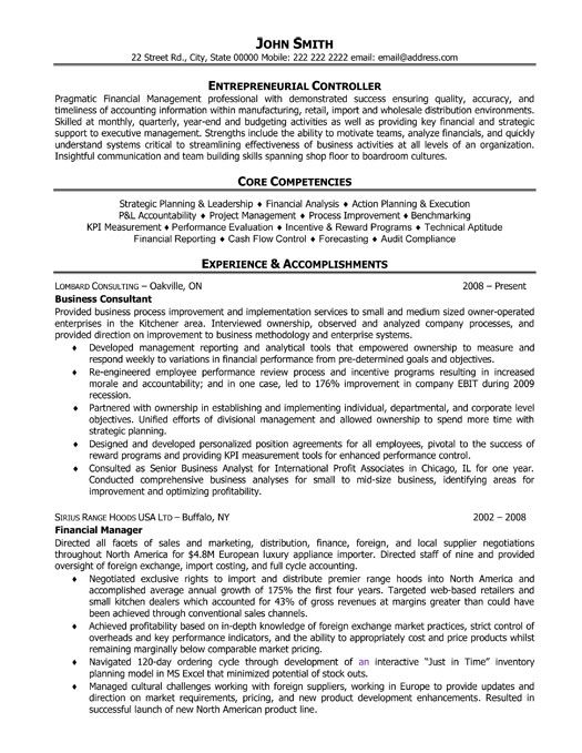 Executive level Business Coach resume template Want it Download it
