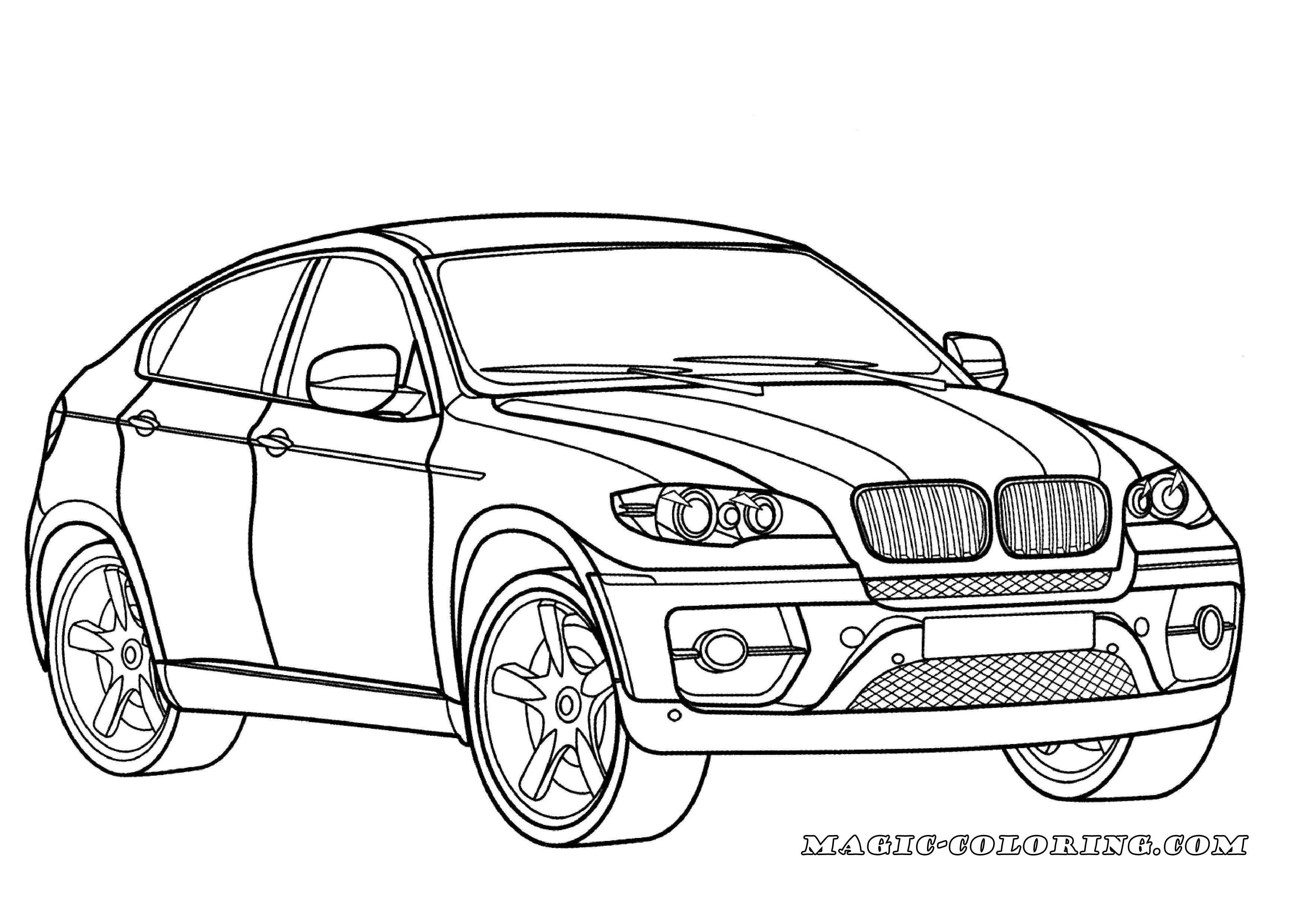 Bmw X6 Coloring Page Desenhos Animados Para Colorir Atividades De Artes Visuais Carros