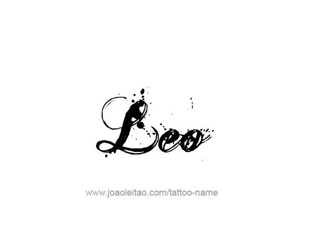 Leo Horoscope Name Tattoo Designs Tattoos With Names Name Tattoos Name Tattoo Designs Horoscope Tattoos