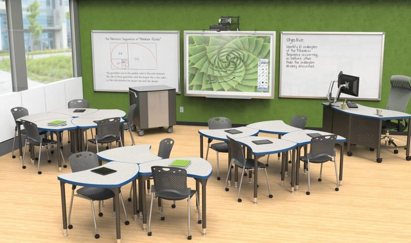 Modern Classroom Chairs : Modular table school mooreco videos