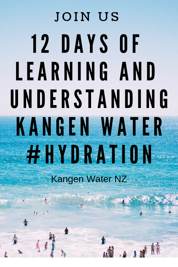 Over 12 Days We Are Going To Teach You About Kangen Water And Why You Need Considering This For Your Own Well Being Wellbeing Kangen Water Water Life Blogs