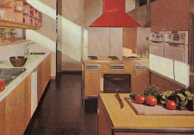1960s Kitchen 1960s interior house colors | decorating a 1960s kitchen -- 21