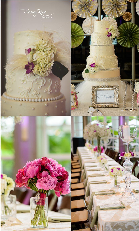 Ivory Sage And Hot Pink Daniel Stowe Summer Wedding Daniel Stowe