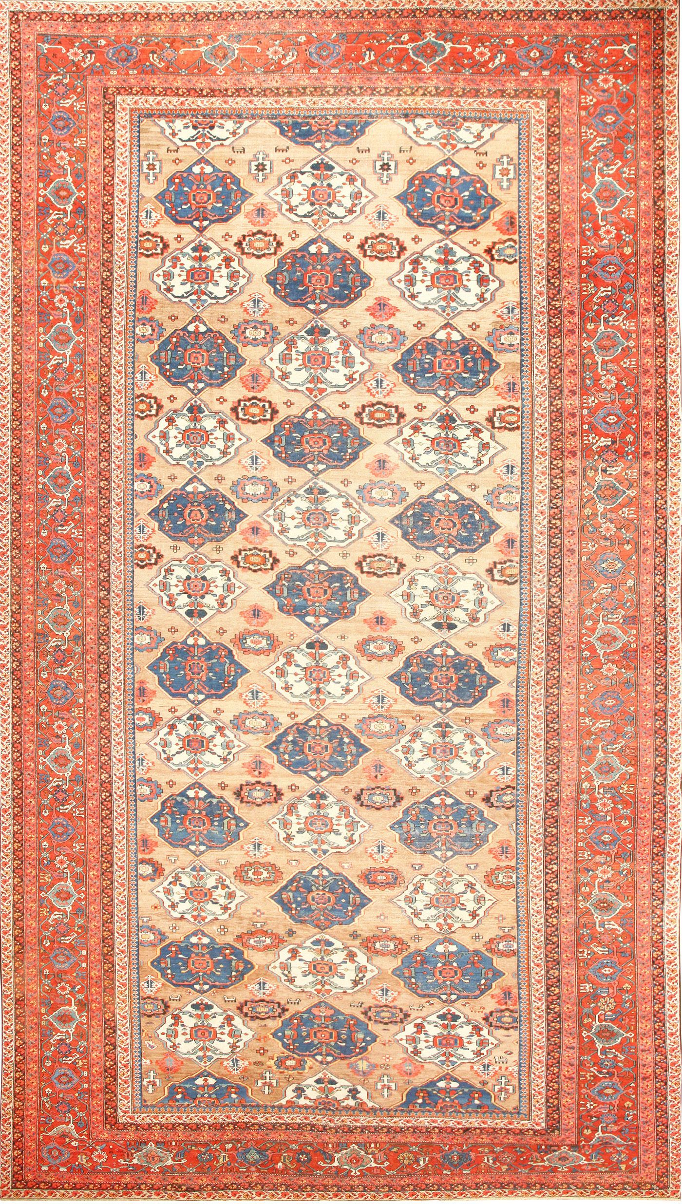 Large Antique Persian Bakshaish Rug 50713 By Nazmiyal Rugs Simple Carpets Rugs On Carpet