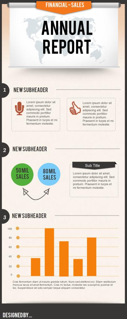 Business Financial - Piktochart Infographics