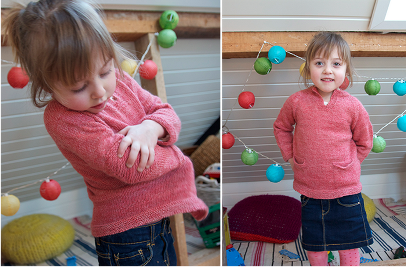 Spring Sweater Pattern  Size 9 -10 is free