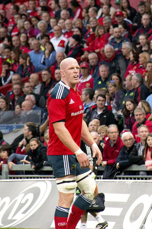 Paul O Connell Munster Rugby Rugby Men International Rugby