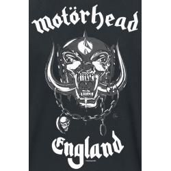 Motörhead England Herren-T-Shirt - schwarz - Offizielles Merchandise