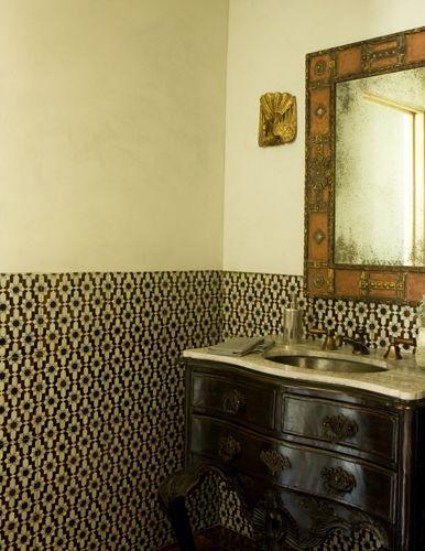 Orientalism for the Modern World | Moorish, Bath and Powder room