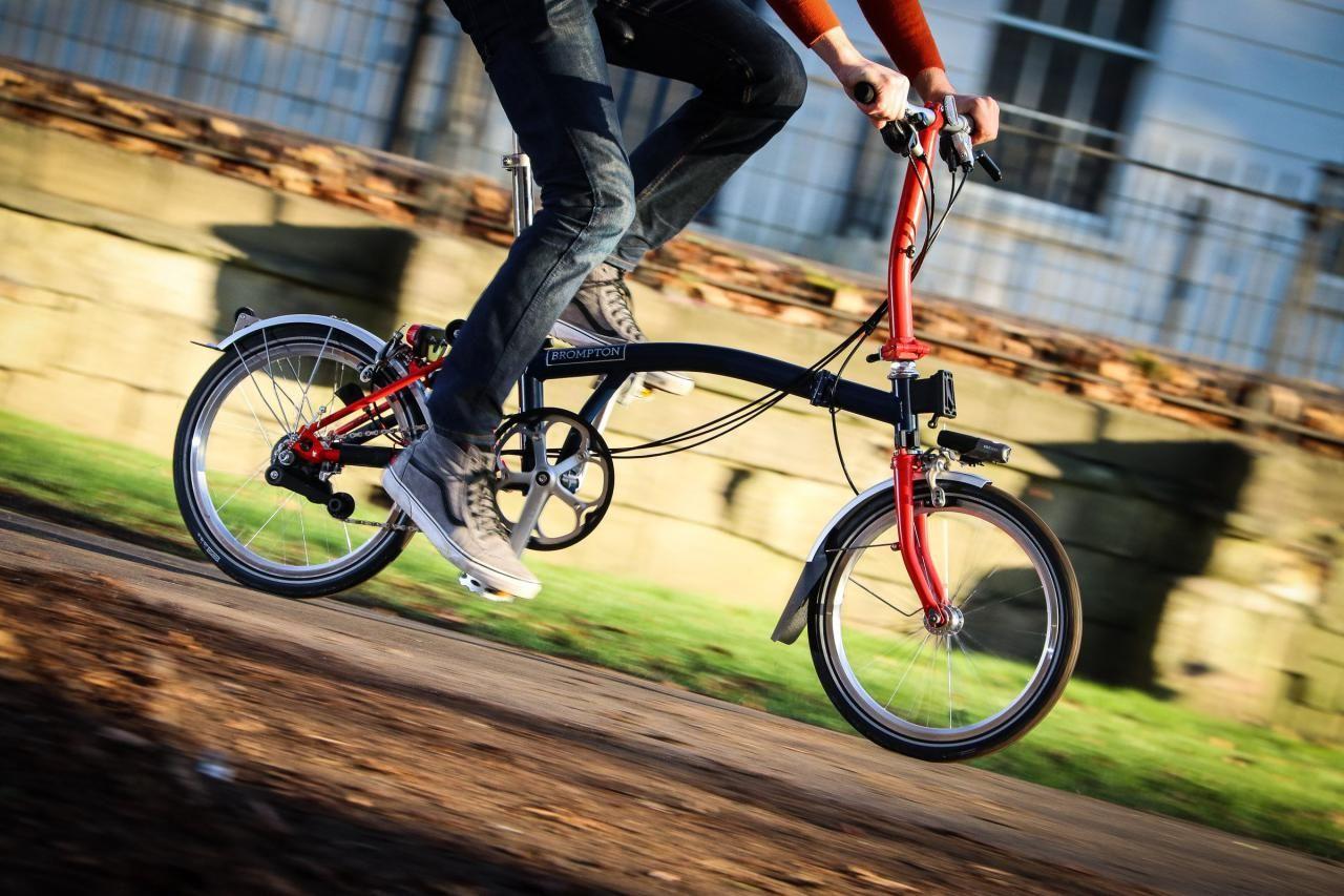 Design Classic Brompton Folding Bike