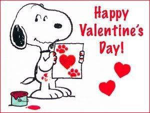 Fesselnd Snoopy Valentine
