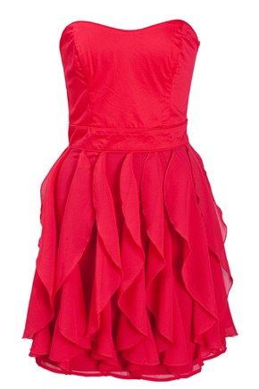 CANDICE ZIZZARD RUFFLE DRESS - Dresses - French Connection. Just ordered it online!