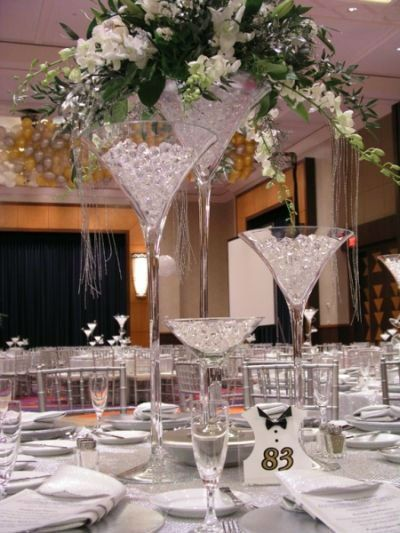 Table Decoration Centerpiece Tall Glass Vase For Wedding Wedding Centerpieces Crystal Centerpieces Martini Glass Centerpiece