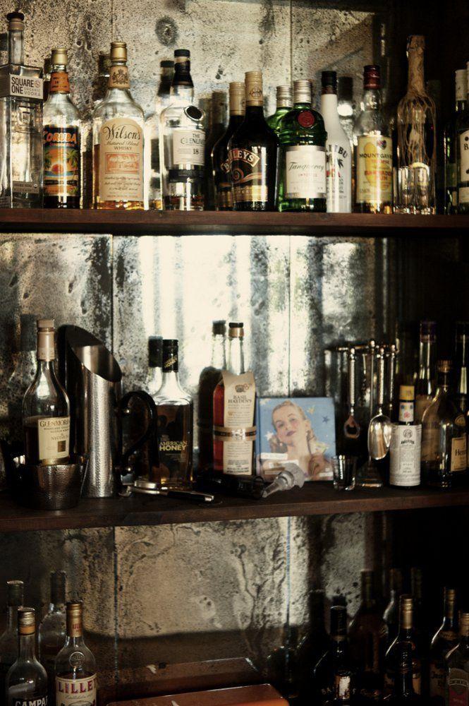 Drinks Cabinet Feature Splashback Create In 2018 Pinterest