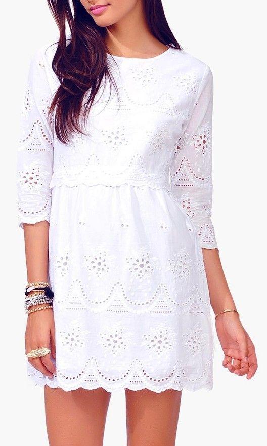 09de613a57 Sweet lace dress Prendas Elegantes