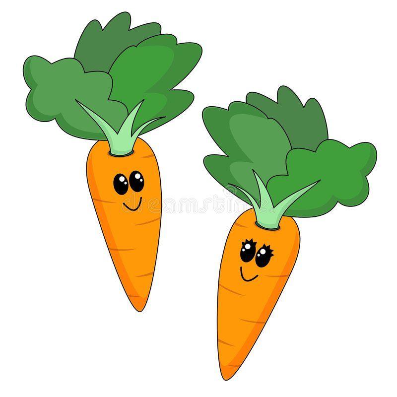 Cartoon Carrots A Cute Cartoon Carrot Couple Ad Cute
