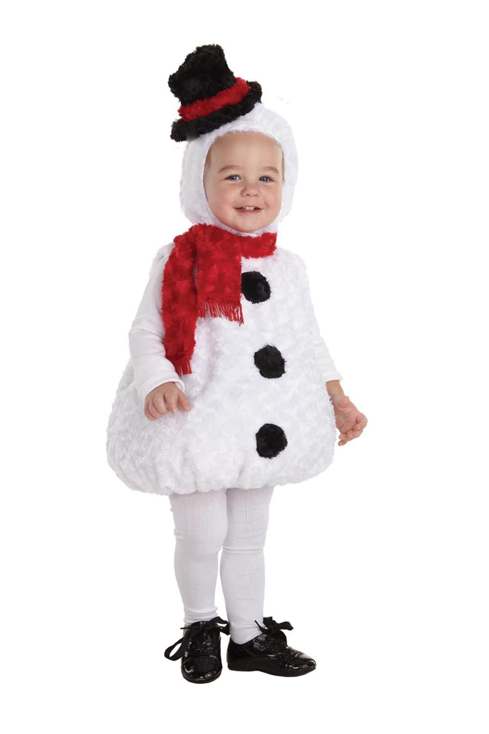Belly Babies Holiday Snowman Costume Child Toddler