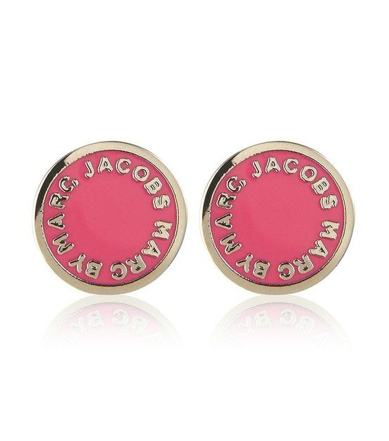 Marc Jacobs Pink Disc Earrings