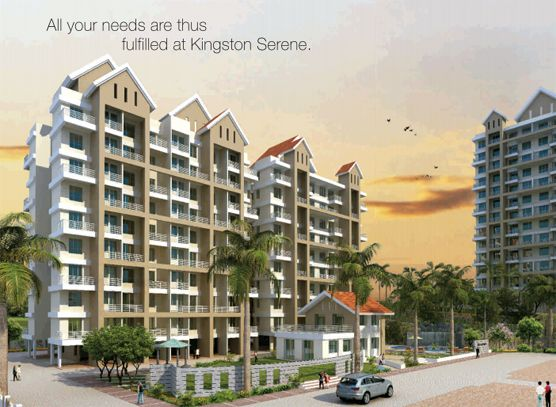 Kingston Serene, A residential project for 1 and 2 BHK luxurious apartments comprising of 3 sided open apartments by at Undri, Pune.  For details visit http://www.puneproperties.com/undri/kingston-serene-apartments.php